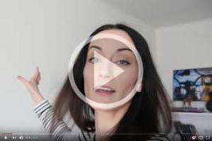Vlogerka TinaNaté si u nás kupovala fotoobraz